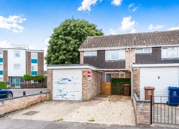 Thumbnail 3 bedroom end terrace house for sale in Warburg Crescent, Cowley, Oxford