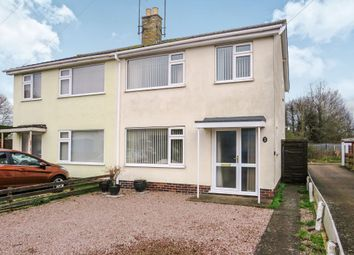 Thumbnail 3 bedroom semi-detached house for sale in Hazelhurst Close, March