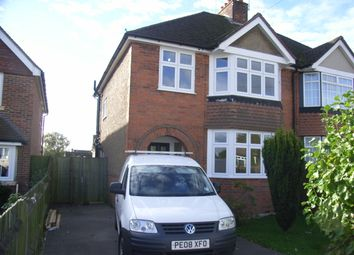 Thumbnail 3 bed semi-detached house to rent in Crockhamwell Road, Woodley, Reading