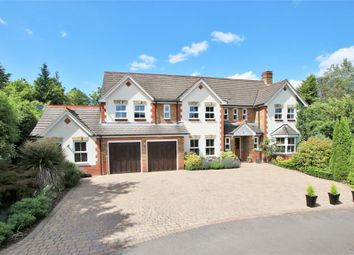 Thumbnail 6 bed detached house for sale in Erica Drive, Wokingham, Berkshire