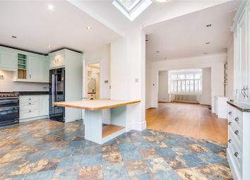 Thumbnail 5 bed terraced house to rent in Byfeld Gardens, Barnes, London