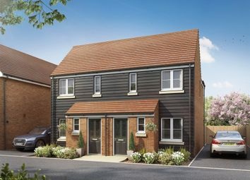 "Thumbnail 2 bed semi-detached house for sale in ""The Alnwick "" at Hollow Lane, Broomfield, Chelmsford"