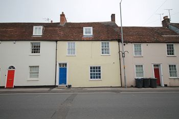 Thumbnail 1 bed flat to rent in Silver Street, Warminster, Wiltshire