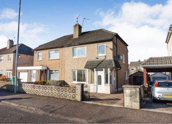 Thumbnail 3 bed semi-detached house for sale in Brackenbrae Avenue, Glasgow
