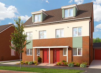 "Thumbnail 3 bed property for sale in ""The Bosworth At Bardon View"" at Bardon Road, Coalville"