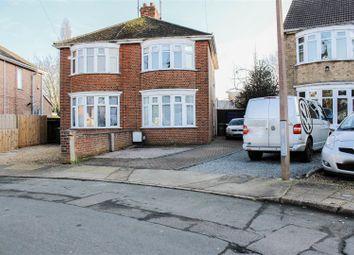 Thumbnail 3 bed semi-detached house for sale in Carleton Crest, Walton, Peterborough