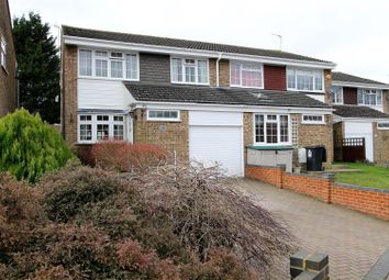 Thumbnail 4 bed semi-detached house for sale in Bronte Crescent, Hemel Hempstead