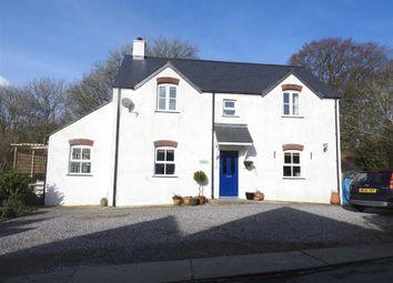 Thumbnail 4 bed detached house for sale in Llandygwydd, Cardigan