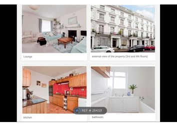 Thumbnail 3 bedroom flat to rent in Westbourne Gardens, London