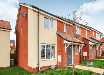 Thumbnail 3 bed end terrace house for sale in Myrtlebury Way, Exeter