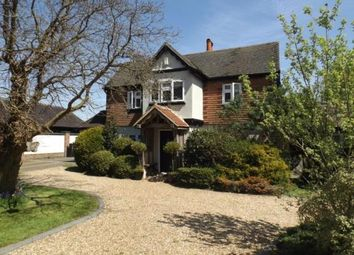 Thumbnail 4 bed detached house for sale in Folkes Lane, Upminster