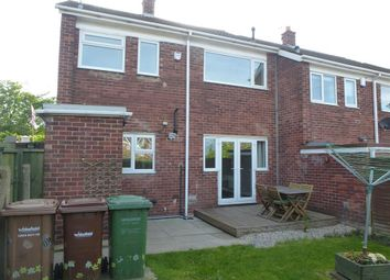 Thumbnail 3 bed terraced house to rent in Byron Close, Knottingley