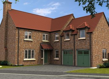 Thumbnail 5 bed detached house for sale in The Westhorpe, Thorpe Lane, South Hykeham, Lincolnshire