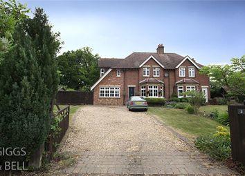 Thumbnail 4 bed semi-detached house for sale in West Lodge, Putteridge Park, Luton, Bedfordshire