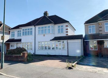 Thumbnail 3 bed semi-detached house for sale in 111 Belmont Road, Erith, Kent