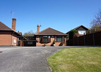 Thumbnail 4 bed detached bungalow for sale in High Lane East, West Hallam Ilkeston