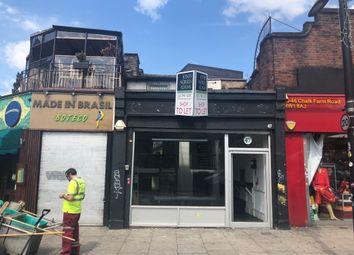 Thumbnail Retail premises to let in Chalk Farm Road, London