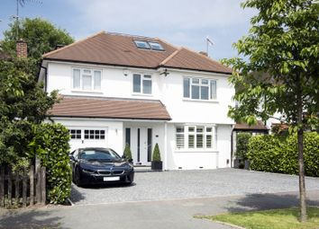 Thumbnail 5 bed detached house to rent in West End Gardens, Esher