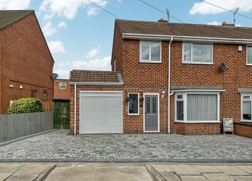 Thumbnail 3 bed semi-detached house for sale in St. Johns Place, Bedlington