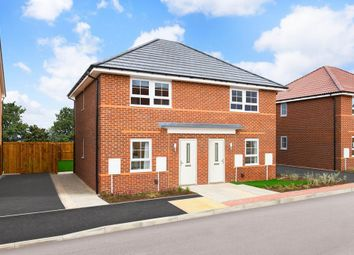 "Thumbnail 2 bedroom end terrace house for sale in ""Kenley"" at Bawtry Road, Tickhill, Doncaster"