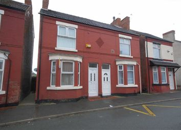 Thumbnail 2 bed terraced house to rent in Brentwood Street, Wallasey, Wirral