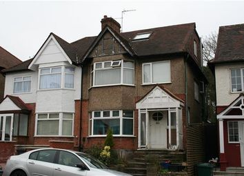 Thumbnail 6 bed semi-detached house to rent in Glebe Crescent NW4, Hendon