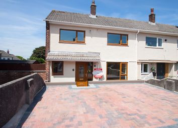 Thumbnail 3 bedroom end terrace house for sale in Alderney Road, Plymouth