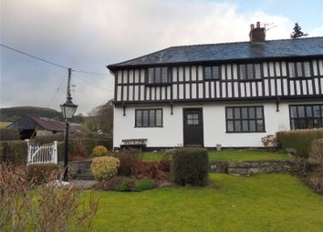 Thumbnail 4 bed semi-detached house for sale in Y Fron, Ffordd Y Cain, Llanfyllin, Powys
