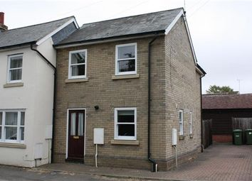 Thumbnail 2 bed end terrace house to rent in Bridge Street, Wistow, Huntingdon