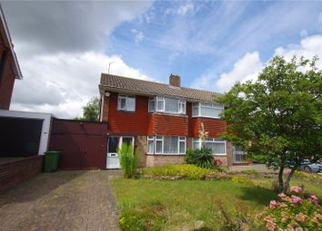 Thumbnail 3 bed semi-detached house for sale in Braemar Close, Lawn, Swindon