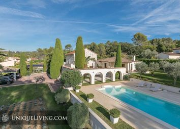Thumbnail 3 bed villa for sale in Mouans-Sartoux, Mougins, French Riviera