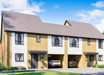 Thumbnail 4 bed link-detached house for sale in Europa Way, Ipswich