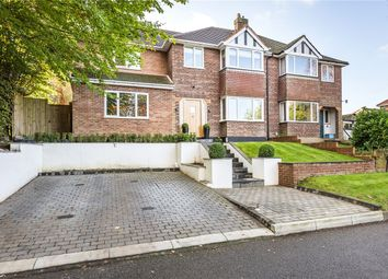 Thumbnail 4 bed semi-detached house for sale in Crown Road, Virginia Water