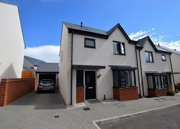 Thumbnail 3 bed semi-detached house for sale in Old Quarry Drive, Exminster, Exeter