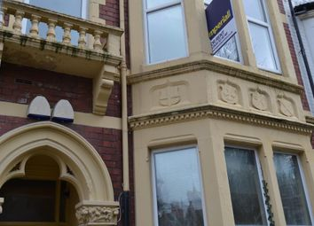 Thumbnail 1 bed flat to rent in 60, Connaught Road, Roath, Cardiff, South Wales