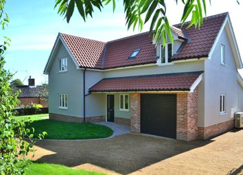 Thumbnail 3 bed detached house for sale in Victoria Terrace, Fressingfield, Eye