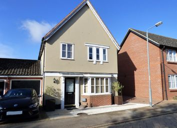 3 bed link-detached house for sale in Hill Farm Road, Long Stratton, Norwich NR15