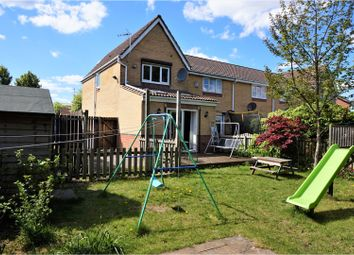 Thumbnail 2 bedroom end terrace house for sale in Thorpe Gardens, Leeds
