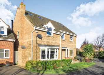 Thumbnail 6 bedroom detached house for sale in Daimler Avenue, Yaxley, Peterborough