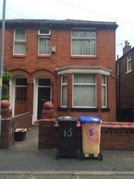Thumbnail 4 bedroom detached house to rent in Rusholme Grove, Rusholme