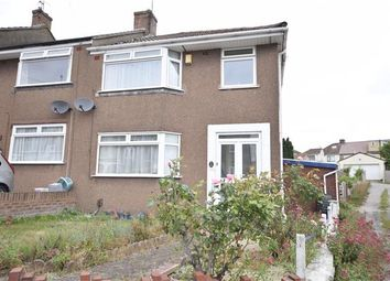 Thumbnail 3 bed end terrace house for sale in Yew Tree Drive, Kingswood, Bristol