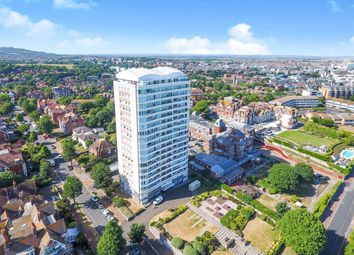 Thumbnail 3 bed flat for sale in South Cliff Tower, Bolsover Road, Eastbourne