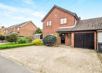 Thumbnail 4 bedroom link-detached house for sale in Norwich Road, Bawdeswell, Dereham