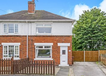 Thumbnail 2 bed semi-detached house for sale in Coronation Street, Wrenthorpe, Wakefield
