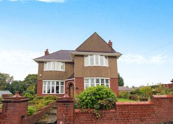 Thumbnail 4 bed detached house for sale in St. Julians Road, Newport