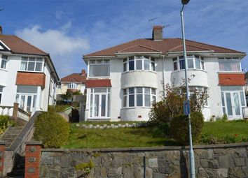 Thumbnail 3 bed semi-detached house for sale in Lon Cwmgwyn, Swansea