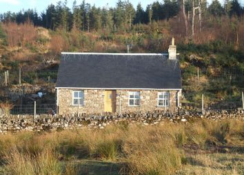 Thumbnail 2 bed detached house for sale in Applecross, Strathcarron
