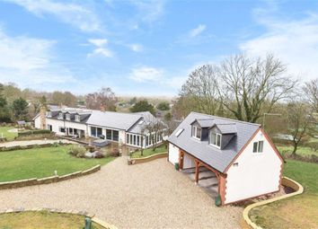 Thumbnail 4 bed detached house for sale in High Street, Wanborough, Swindon