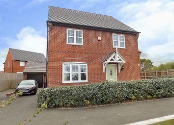 Thumbnail 4 bed detached house for sale in Argonaut Avenue, Castle Donington, Derby