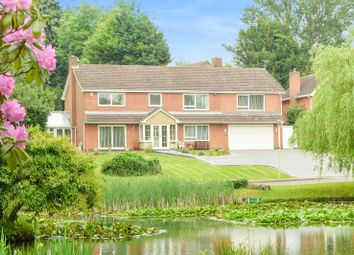 Thumbnail 5 bed detached house for sale in Lakeside Court, Thurnby, Leicester